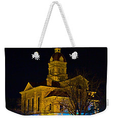 Bandera County Courthouse Weekender Tote Bag