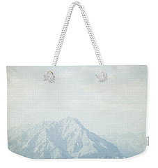 Weekender Tote Bag featuring the photograph Banff National Park - Alberta Canada - Square by Lisa Parrish