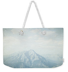 Weekender Tote Bag featuring the photograph Banff National Park - Alberta Canada by Lisa Parrish