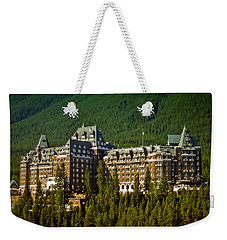 Banff Springs Hotel Weekender Tote Bag