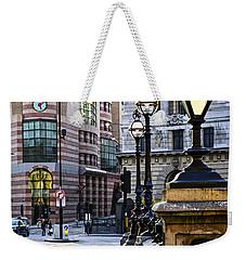 Bank Station In London Weekender Tote Bag by Elena Elisseeva