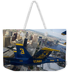 Banking Above Baltimore Weekender Tote Bag