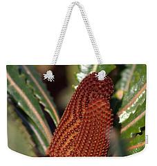 Weekender Tote Bag featuring the photograph Banksia by Miroslava Jurcik