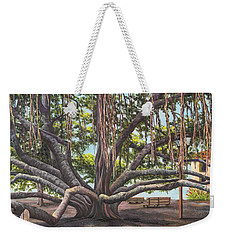 Banyan Tree Lahaina Maui Weekender Tote Bag