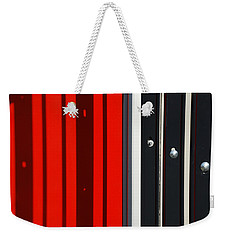 Bar Code Weekender Tote Bag