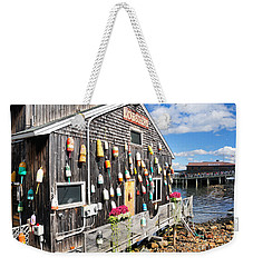 Bar Harbor Restaurant Weekender Tote Bag by Betty LaRue