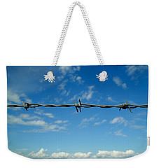 Barbed Sky Weekender Tote Bag by Nina Ficur Feenan