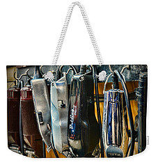Barber -  Hair Clippers Weekender Tote Bag