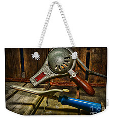 Barber - Vintage Hair Care Weekender Tote Bag