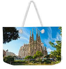 Barcelona - La Sagrada Familia Weekender Tote Bag
