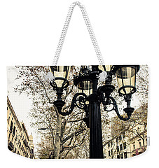 Barcelona - La Rambla Weekender Tote Bag by Andrea Mazzocchetti