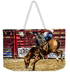 Bareback Riding Weekender Tote Bag by Eleanor Abramson