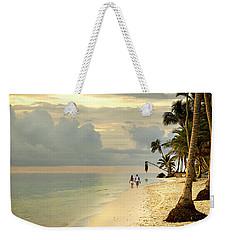 Barefoot On The Beach Weekender Tote Bag