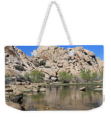 Barker Dam Weekender Tote Bag by Amy Gallagher