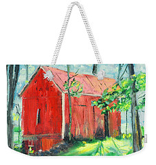 Barn At Walpack Weekender Tote Bag