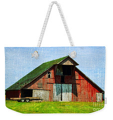 Barn - Central Illinois - Luther Fine Art Weekender Tote Bag