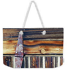 Barn Door Weekender Tote Bag by Wayne Sherriff
