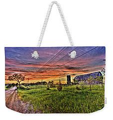 Barn Finds Weekender Tote Bag by Nicholas  Grunas