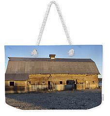 Barn In Rural Washington Weekender Tote Bag