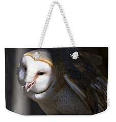 Barn Owl 1 Weekender Tote Bag by Chris Flees