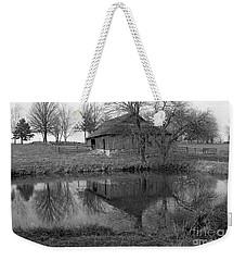 Barn Reflection Weekender Tote Bag