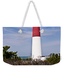 Barnegat Lighthouse Weekender Tote Bag by Anthony Sacco