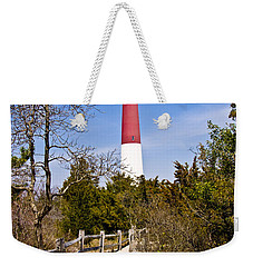 Barnegat Lighthouse II Weekender Tote Bag by Anthony Sacco