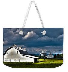 Barns And Radio Telescopes Weekender Tote Bag