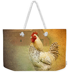 Barnyard Boss Weekender Tote Bag by Betty LaRue