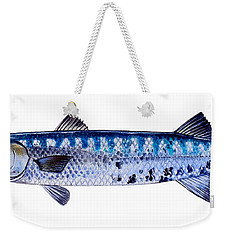 Barracuda Weekender Tote Bag by Carey Chen