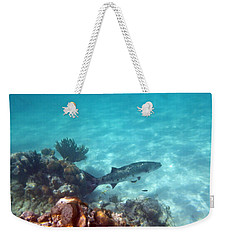 Weekender Tote Bag featuring the photograph Barracuda by Eti Reid