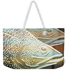 Weekender Tote Bag featuring the photograph Barramundi by Holly Kempe