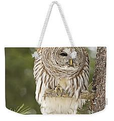 Barred Owl Hunting Weekender Tote Bag