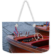 Barrel Back-cockpit View Weekender Tote Bag