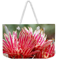 Barrel Cactus Flower Weekender Tote Bag