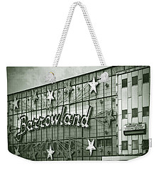 Barrowland Glasgow Weekender Tote Bag by Liz Leyden