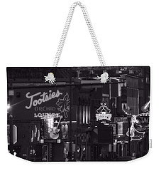 Bars On Broadway Nashville Weekender Tote Bag