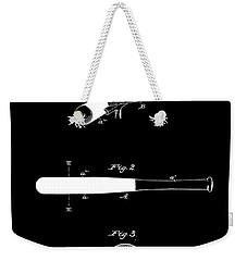 Baseball Bat Weekender Tote Bag by Dan Sproul