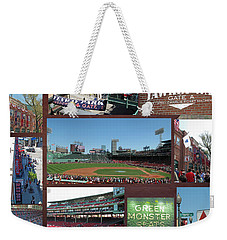 Baseball Collage Weekender Tote Bag