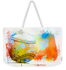 Baseball- Colors- Isolated Weekender Tote Bag