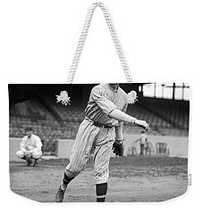 Baseball Star Walter Johnson Weekender Tote Bag