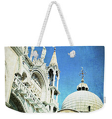 Weekender Tote Bag featuring the photograph Basilica Di San Marco - Venice by Lisa Parrish