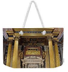 Basilica Of St John Lateran  Weekender Tote Bag