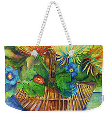 Flowers In My Basket Weekender Tote Bag