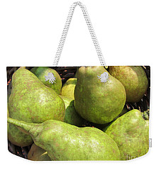 Basket Of Green Pears Weekender Tote Bag