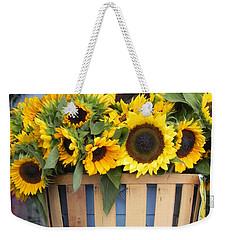 Basket Of Sunshine Weekender Tote Bag by Chrisann Ellis