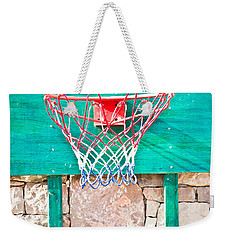 Basketball Net Weekender Tote Bag by Tom Gowanlock
