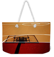 Basketball Shadows Weekender Tote Bag by Karol Livote