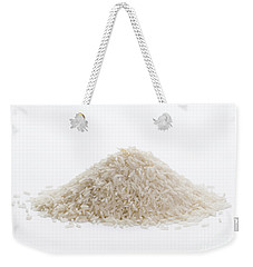 Weekender Tote Bag featuring the photograph Basmati Rice by Lee Avison