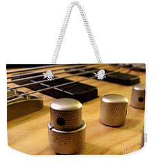 Weekender Tote Bag featuring the photograph Bass by Andrea Anderegg